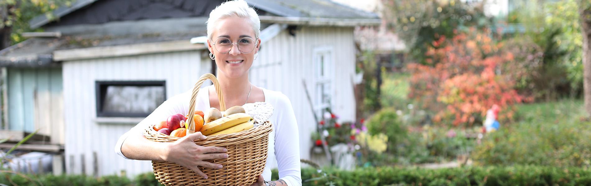 Einkaufsservice - schnell, kompetent und sympathisch, Lea von Senifix Haushaltshilfe für Senioren aus Chemnitz.